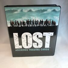 BINDER SALE: ALBUM FOR LOST ARCHIVES Trading Cards by Rittenhouse 2010