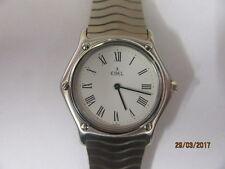 Gents Ebel Sportswave Quartz Wrist Watch In Working Order