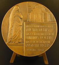 Médaille religieuse à Juliano Mulsant la Vierge Marie 80 mm  religious medal