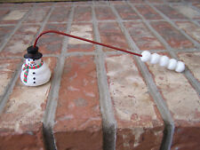 Boston Warehouse Collectible Christmas Holiday Snowman Candle Snuffer New Unused