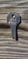 Vintage  Yale HL 10  Key Suitcase Traincase Luggage  Key Yale Key HL 10     HL10