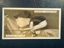 J. PLAYER. 1925.   RACING CARICATURES .  1 ODD CARD . NUMBER   13.