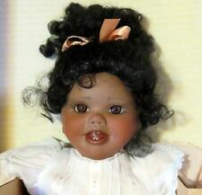 """Turner 19"""" Porcelain African American Doll """"Molly"""""""
