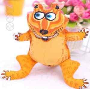 Fat Cat Doggy Hoots Chipmunk Chew  Puppy Dog Toy