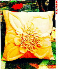 Giant Flower Pillow Sewing Pattern - 16-1/4x16-inches