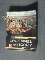 Law, Business and Society by McAdams 12th Ed - LEAFLET Version - NO Binder