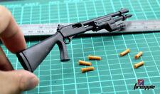 """1/6 Scale Plastic M1 Super 90 Semi-Automatic Shotgun Weapon Model for 12"""" Figure"""