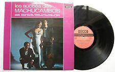 LOS MACHUCAMBOS (LP 33T) LES SUCCES DES MACHUCAMBOS