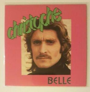 hommage à CHRISTOPHE (1973) ♦ CD Single Réplica du 45t. ♦ BELLE / ROCK MONSIEUR