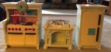 Fisher Price Loving Family Home for the Holiday Dollhouse Christmas KITCHEN