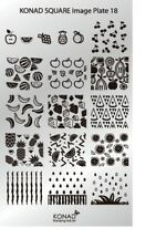 Konad Stamping Nail Art Square Image Plate 18