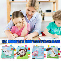Baby Books Soft Baby Bath Books Crinkle Early Learning Educational Cloth Book