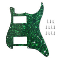 Guitar HH Pickguard For Fender Stratocaster Strat Parts Humbucker 3 Ply W/Screws