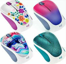 Logitech Design Collection Optical Wireless Mouse