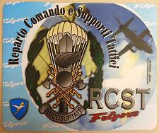 Mouse Pad Computer RCST - REPARTO COMANDO SUPPORTI TATTICI PARACADUTISTI FOLGORE
