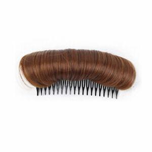 Hair Bun Hair Extension DIY Styling Tool Fluffy Hair Pad Synthetic False Hair
