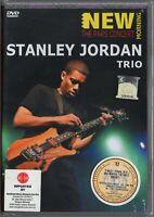 STANLEY JORDAN TRIO New Morning The Paris Concert GERMANY DVD RARE FREE SHIPMENT