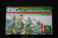 YB070 ESCI 1/72 maquette figurine P209 US paratroopers 82A Screaming Eagles WWII
