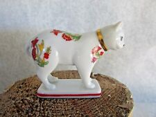 Franklin Mint Curio Cabinet Cat - Kakiemon Cat - 1988