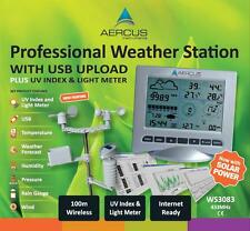 Weather Station Wireless Ws3083 With Internet Upload Plus UV Index and Light