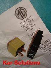 MG Rover MGF MGTF F TF Heated Rear Window HRW Switch Relay Kit New Hardtop