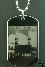 Holy Kabaah Mecca Muslim Islam Pendant tag Necklace