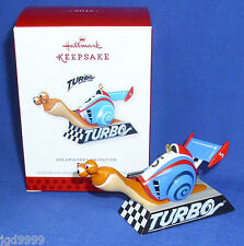 Hallmark Ornament DreamWorks Animation Turbo 2013 Snail Optional Lighting Effect