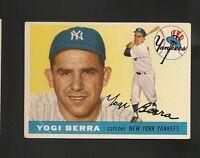 1955 Topps # 198 Yogi Berra Vg-Ex