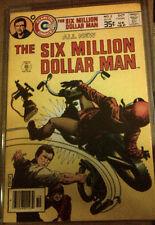 SIX MILLION DOLLAR MAN #5 VG+ Store-Stamped