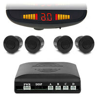 Einparkhilfe Rückfahrwarner Carmedien CM-PDC3 mit Spiegel Ansicht PDC Parkhilfe