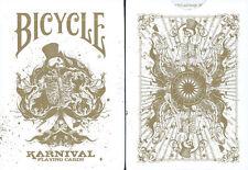 CARTE DA GIOCO BICYCLE KARNIVAL GOLD,poker size