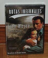 RUTAS INFERNALES - DVD - NUEVO - PRECINTADO - DESCATALOGADO - JOHN WAYNE-INÉDITO