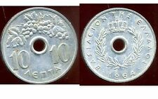 GRECE  10 lepta 1964