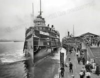 Photograph Vintage Steamship City of Cleveland 1910 11x14