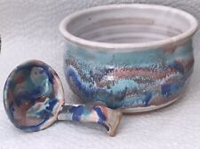 Small House Pottery Bowl Made in Sanger Texas Handcrafted Art Pottery