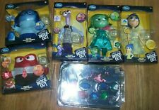 Lot of 6 Disney Deluxe Talking Doll Pixar Inside Out New Film Dolls &Cake Topper