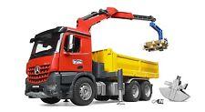 Bruder Mercedes Benz Arocs Construction Truck with Crane & accessories 03651