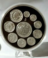 """Mexico Silver  """"Piedra de los Soles"""" 5oz Medal  1993 NICE SCARSE"""