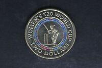 2019 - Australian 2 Dollar Coin - $2 - T20 Women's World Cup - aUNC/UNC