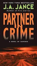 PARTNER IN CRIME by J. A. Jance BRAND NEW BOOK - Best Price on EBAY!