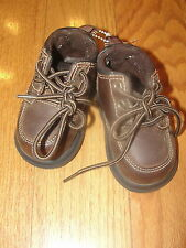 Thom McAn Infant Toddler Boys 2 Brown Leather Winter Walking Shoes