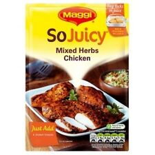 MAGGI SO JUICY COOKS IN THE BAG MIXED HERBS FOR CHICKEN 3 x 30g