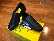 NEW SmartFit Grant Slip On Mule Grant Black Size 1 1/2 Boys Dress Shoes