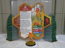 Heroscape Custom Cheetah Deborah Domaine Double Sided Card & Figure w/ Sleeve DC