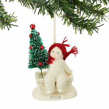 Snowbabies 'Tree Top' 2015 Dated Christmas Ornament by Department 56 4045814