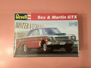 Revell #7365, Sox &Martin Plymouth GTX, NOS kit, in original box