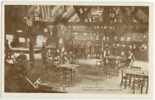 c1917 WWI Egham England Canadian Forestry Camp YMCA hut Interior