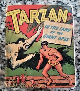 Tarzan In The Land of the Giant Apes Book