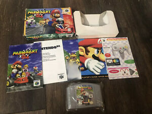 Mario Kart 64 Complete CIB With Manual And Authentic Box Nintendo 64 Racing