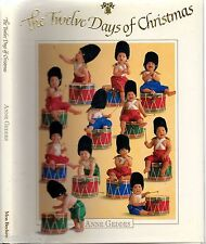 THE TWELVE DAYS OF CHRISTMAS - ANNE GEDDES (HCDJ; 1994) BABIES PHOTOGRAPHY ART